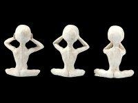 Alien Figurines - No Evil