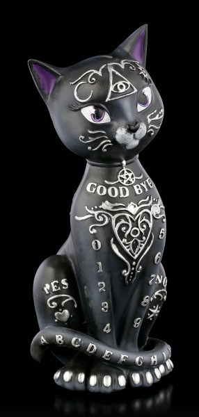 Ouija Cat Figurine - Mystic Kitty