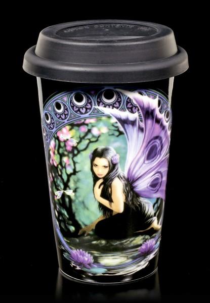 Keramik Becher To Go - Elfe Naiad