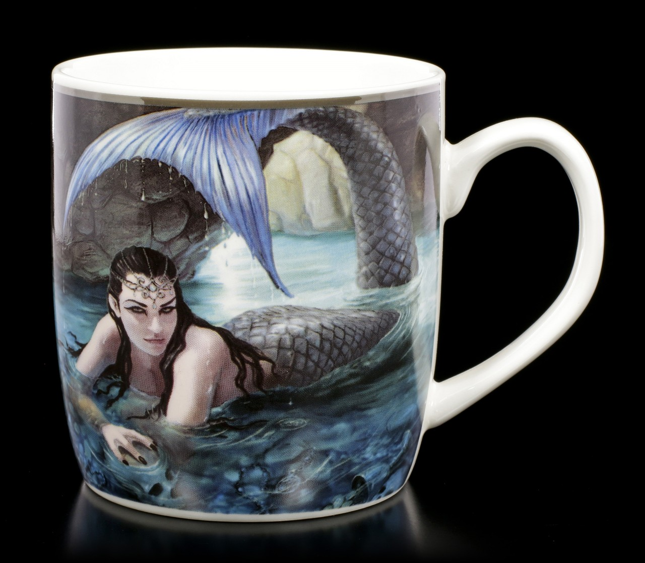 Ceramic Mug with Mermaid - Hidden Depths