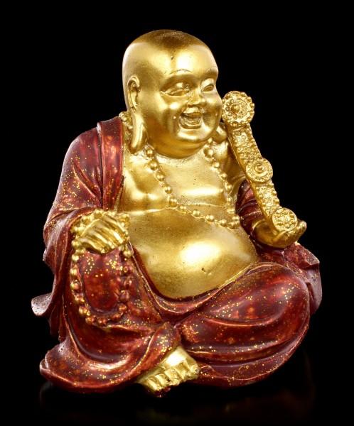 Small Buddha Money Bank - Happiness