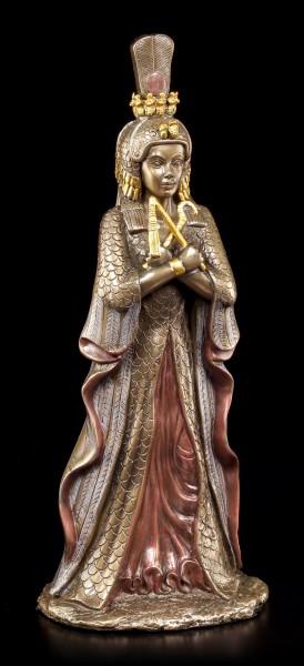 Kleopatra Figur - bronziert