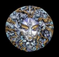 Wall Plaque Mari - Goddess of the Sea by Oberon Zell