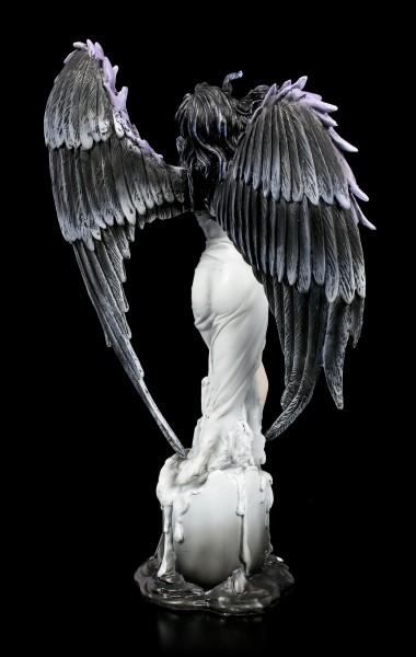 Dark Angel Figurine - Atera raises from Candle