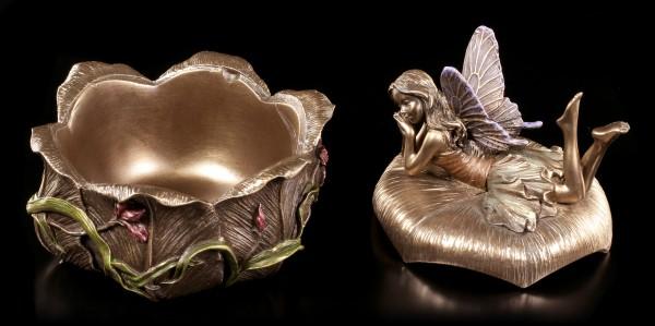 Art Nouveau Box - Fairy on Flower Blossom