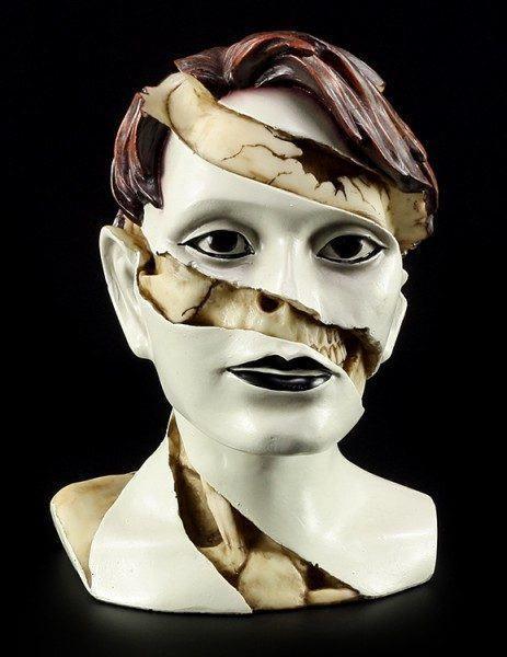 Frauen Büste - Skull Makeup