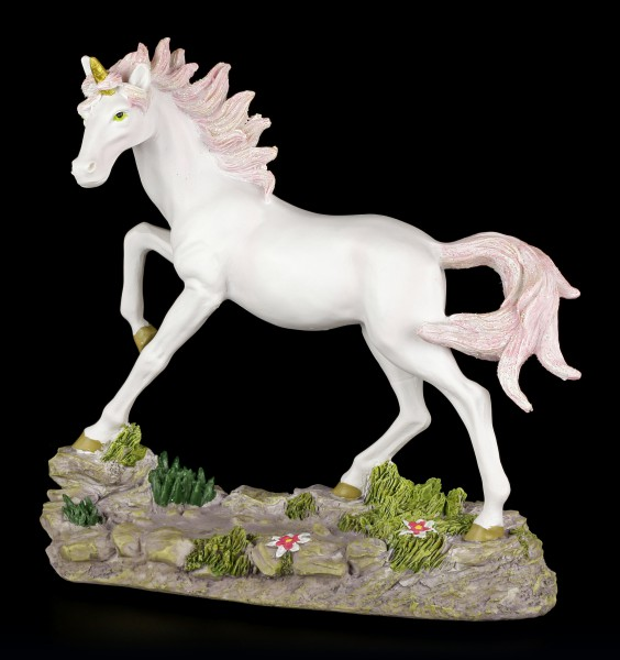 Large Unicorn Figurine - Pink