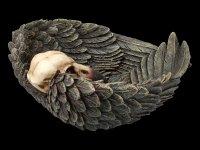 Bowl - Raven Skull