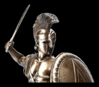 Krieger Figur - Spartaner mit Schild