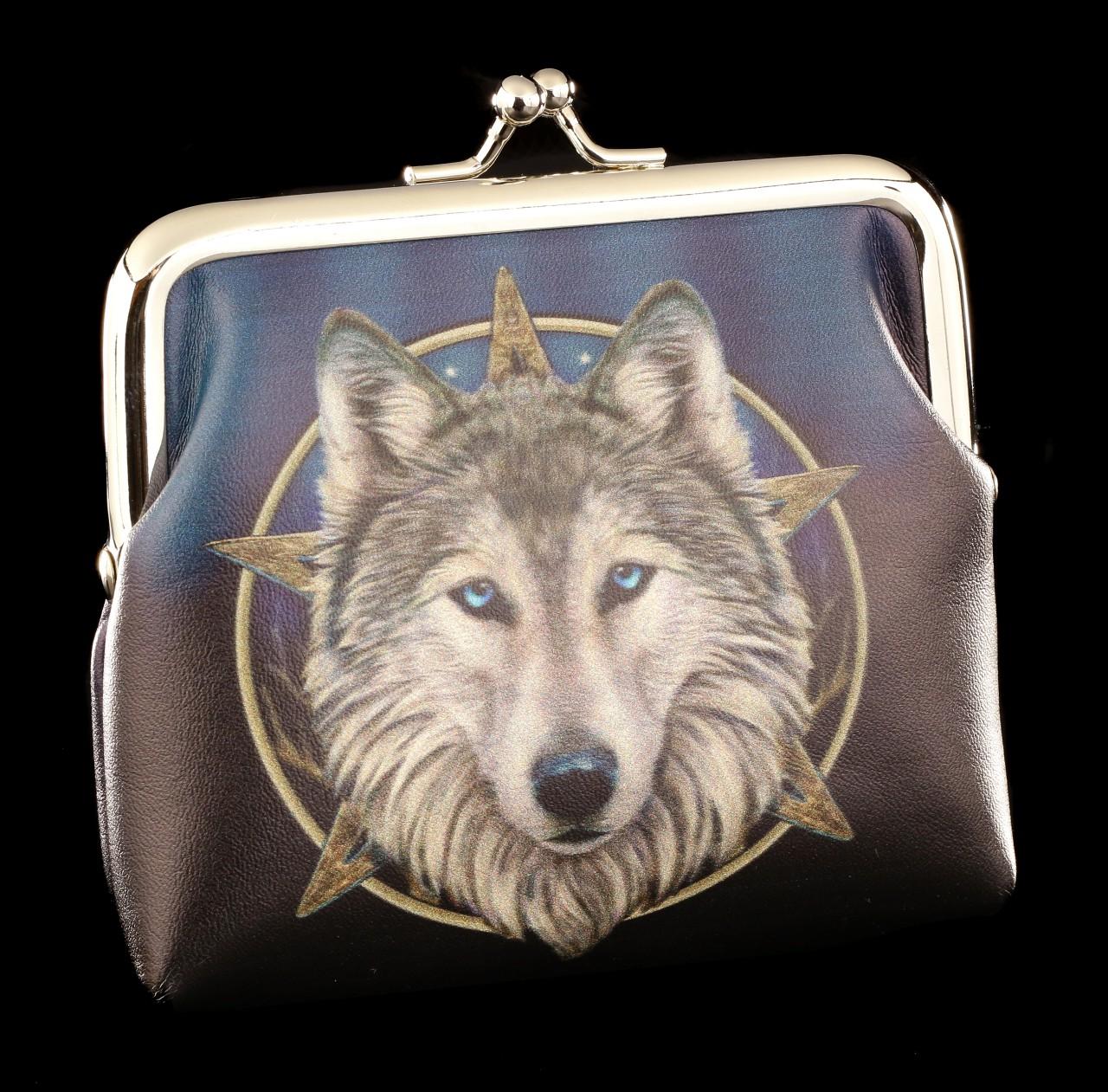 Geldbeutel mit Wolf - The Wild One
