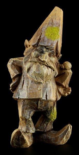Zwergen Figur - Gildasse in Holzoptik