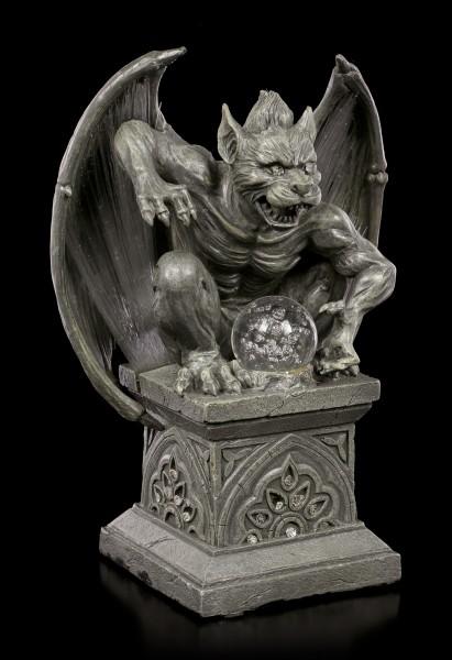Gargoyle Figurine with LED Lighting