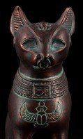 Bastet Figurine Small - Copper Look
