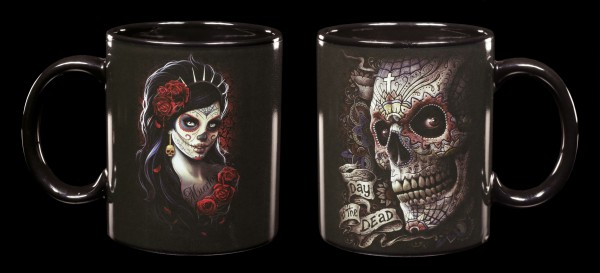 Gothic Mug - Day of the Dead - Set of 2