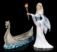 Fairy Figurine - Mystica on Dragon Boat