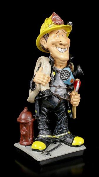 Funny Job Figur - Feuerwehrmann mit Axt