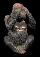 Gorilla Figurines Set of 3 - No Evil