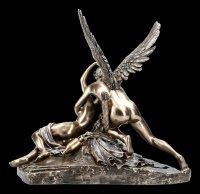 Eros und Psyche Figur nach Antonio Canova - bronziert