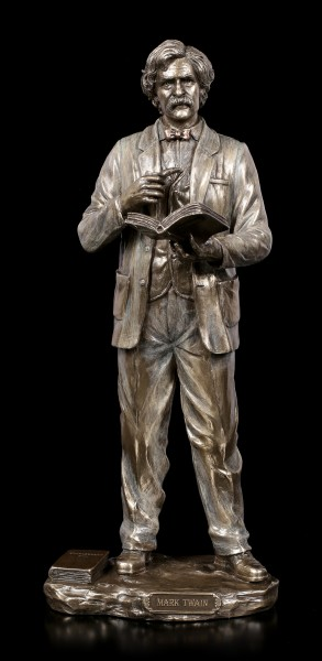 Mark Twain Figurine