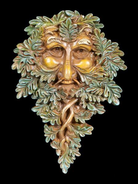 Tree Spirit Wall Plaque - Oak Guardian