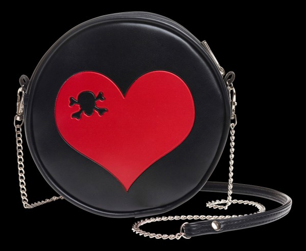 Alchemy Gothic Purse Bag - Skull Heart
