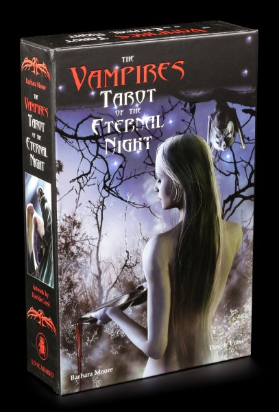 Tarot Set - Vampires Tarot of the eternal Night