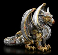 Steampunk Dragon Figurine - Killing Machine