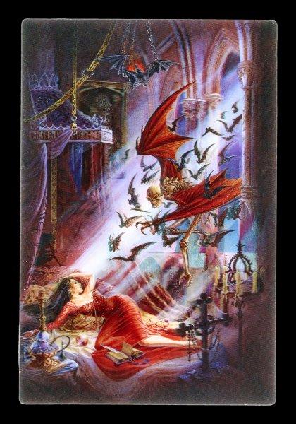 3D Postkarte mit Reaper - The Dream of Upir