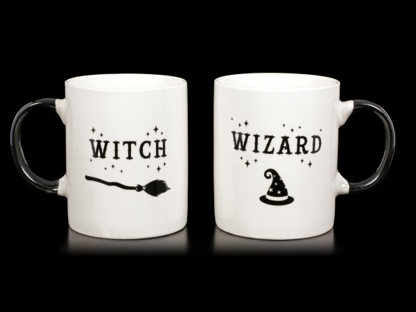Tassen Set - Witch and Wizard