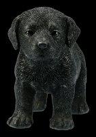 Dog Figurine - Black Labrador Puppy
