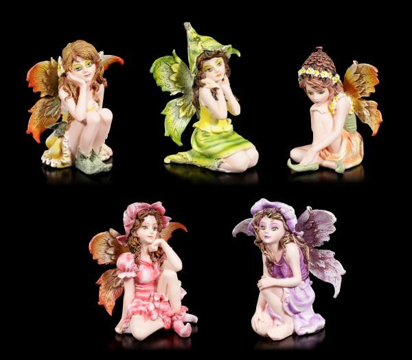 Fairy Figurines Set of 5 - Five Sisters