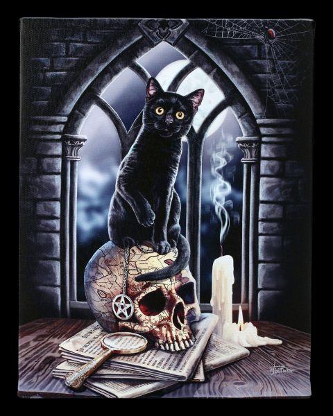 Kleine Leinwand mit Katze - Salem