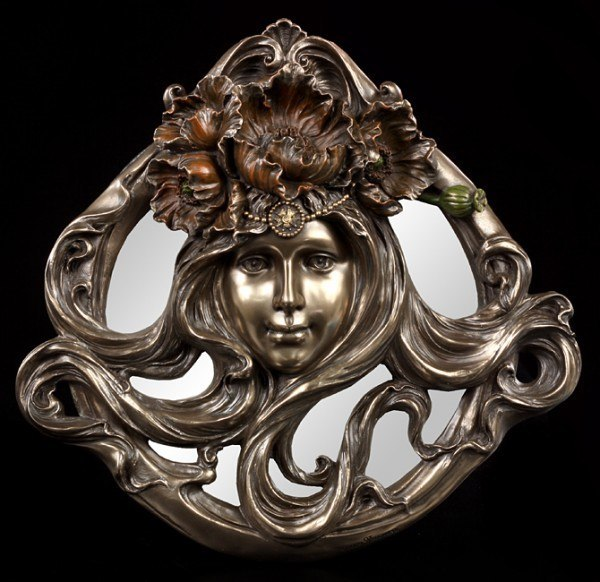 Art Nouveau Mirror - Woman