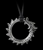 Alchemy Drachen Halskette - Jormungand