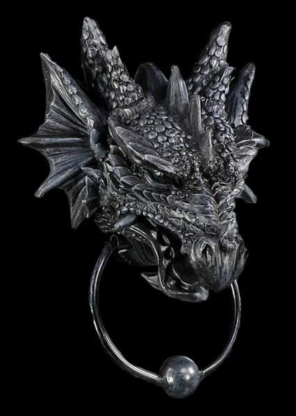 Dragon Head Door Knocker