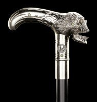 Swaggering Cane with Skull - Xenocane - Metal