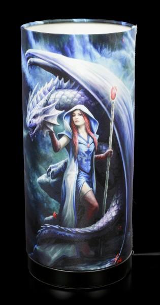 Table Lamp - Dragon Mage