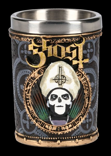 Ghost Shot Glass - Gold Meliora