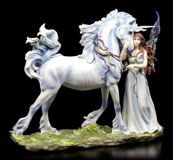 Einhorn mit Elfen Figur - Long Live Magic