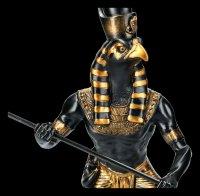Horus Figur als Krieger