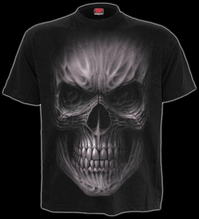 T-Shirt mit Tribal Totenkopf - Death Rage