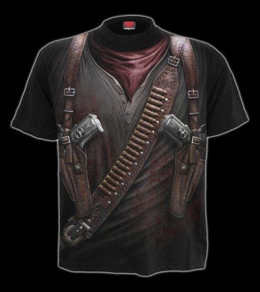T-Shirt Fantasy Western - Holster Wrap