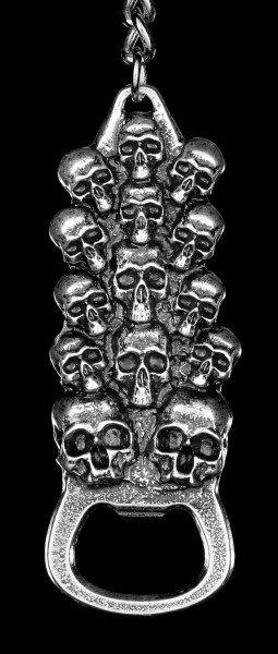 Bottle Opener - Skull Mountain as Keychains