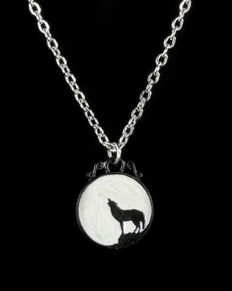Wolf - Alchemy Gothic Pendant