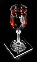 Alchemy Untersetzer - Black Coffee, Black Rose