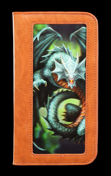 Handyhülle mit 3D Motiv - Drache Jade Emerald Dragon