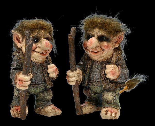 Troll Figurine Set of 2 - The Wanderer