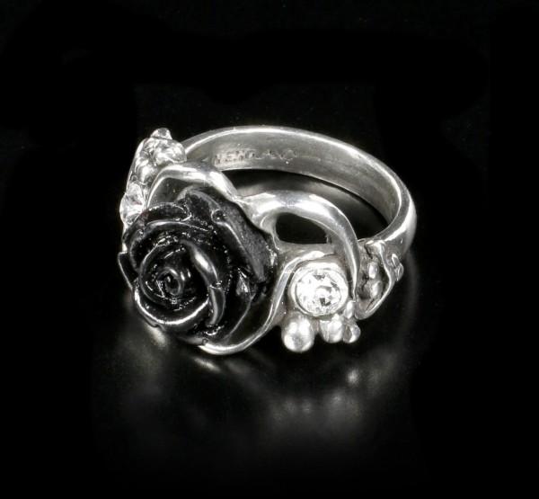 Alchemy Gothic Ring - Bacchanal Rose