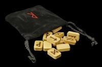 Runen aus Holz - mit Beutel
