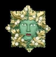 Garden Wall Plaque - The Green Flora